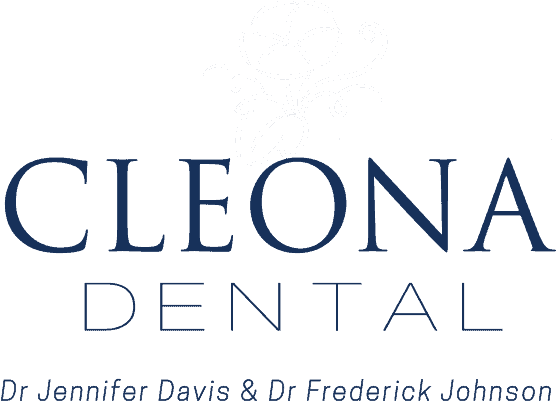 Cleona Dental Dr. Jennifer Davis and Dr. Frederick Johnson logo