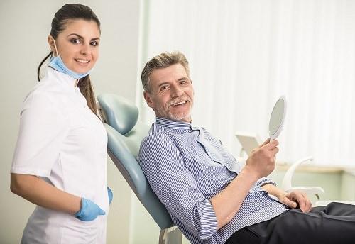 hygienist & patient