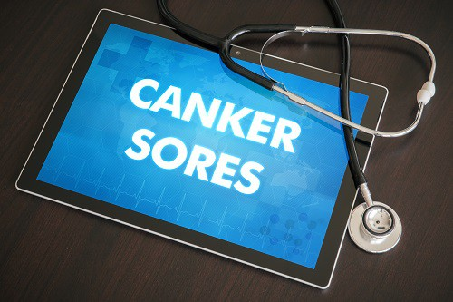 canker sore visualization on ipad